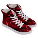 Cells All Over  Women s Hi-Top Skate Sneakers View3