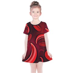 Cells All Over  Kids  Simple Cotton Dress by shawnstestimony