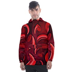 Cells All Over  Men s Front Pocket Pullover Windbreaker by shawnstestimony