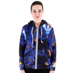 Universe Exploded Women s Zipper Hoodie by WensdaiAmbrose