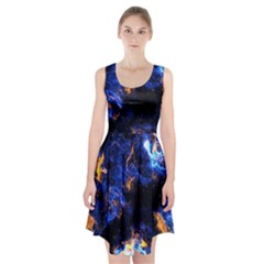 Universe Exploded Racerback Midi Dress by WensdaiAmbrose