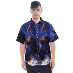Universe Exploded Men s Short Sleeve Shirt by WensdaiAmbrose