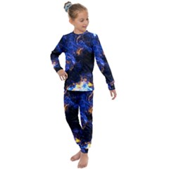 Universe Exploded Kids  Long Sleeve Set  by WensdaiAmbrose