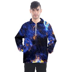 Universe Exploded Men s Half Zip Pullover by WensdaiAmbrose