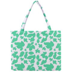 Botanical Motif Print Pattern Mini Tote Bag