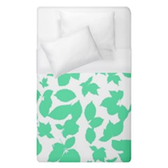 Botanical Motif Print Pattern Duvet Cover (Single Size)