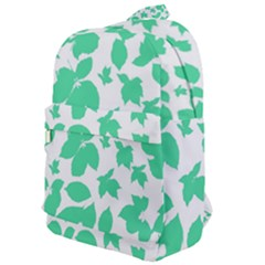 Botanical Motif Print Pattern Classic Backpack