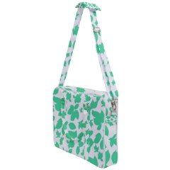 Botanical Motif Print Pattern Cross Body Office Bag