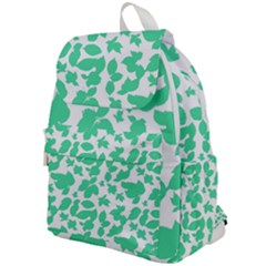Botanical Motif Print Pattern Top Flap Backpack