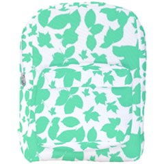 Botanical Motif Print Pattern Full Print Backpack