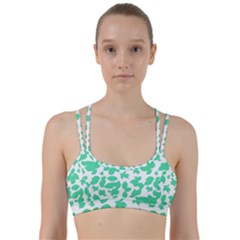 Botanical Motif Print Pattern Line Them Up Sports Bra