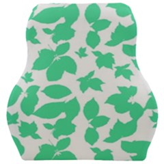 Botanical Motif Print Pattern Car Seat Velour Cushion
