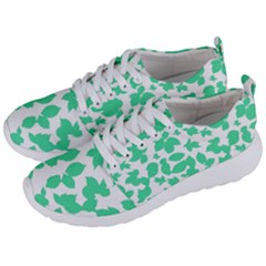 Botanical Motif Print Pattern Men s Lightweight Sports Shoes