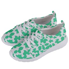 Botanical Motif Print Pattern Women s Lightweight Sports Shoes