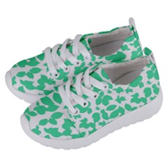 Botanical Motif Print Pattern Kids  Lightweight Sports Shoes