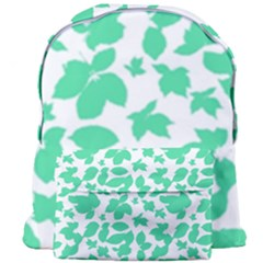 Botanical Motif Print Pattern Giant Full Print Backpack