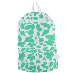 Botanical Motif Print Pattern Foldable Lightweight Backpack
