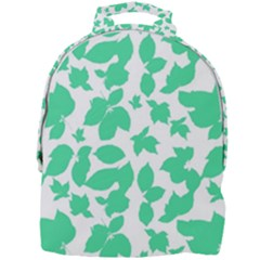 Botanical Motif Print Pattern Mini Full Print Backpack