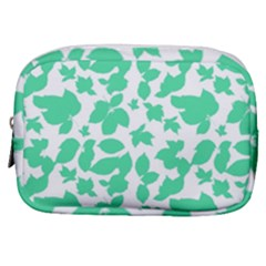 Botanical Motif Print Pattern Make Up Pouch (Small)