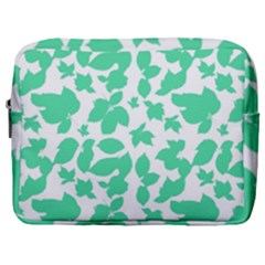 Botanical Motif Print Pattern Make Up Pouch (Large)
