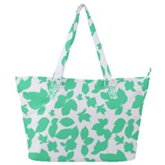 Botanical Motif Print Pattern Full Print Shoulder Bag
