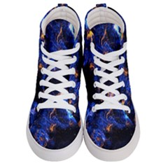 Universe Exploded Men s Hi Top Skate Sneakers