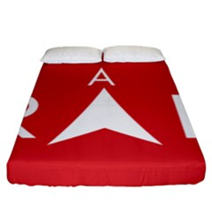 Logo Of Pakatan Harapan Political Coalition Fitted Sheet (king Size) by abbeyz71