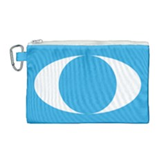 Flag Of Malaysia s People s Justice Party Canvas Cosmetic Bag (large) by abbeyz71