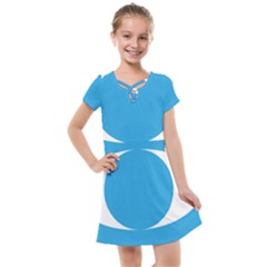 Flag Of Malaysia s People s Justice Party Kids  Cross Web Dress by abbeyz71