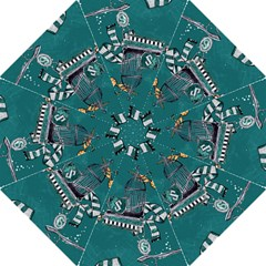Slytherin Pattern Folding Umbrellas by Sobalvarro