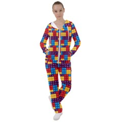 Lego Background Game Women s Tracksuit