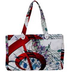 Music Treble Clef Sound Canvas Work Bag