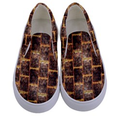 Wallpaper Iron Kids  Canvas Slip Ons