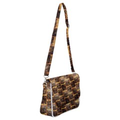 Wallpaper Iron Shoulder Bag With Back Zipper by HermanTelo