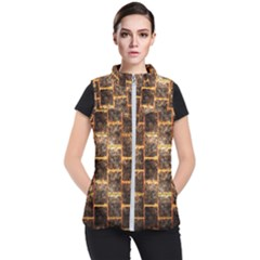 Wallpaper Iron Women s Puffer Vest by HermanTelo