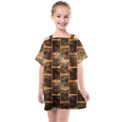 Wallpaper Iron Kids  One Piece Chiffon Dress by HermanTelo
