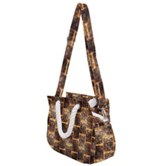 Wallpaper Iron Rope Handles Shoulder Strap Bag by HermanTelo