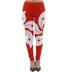 Flag Of Hong Kong Lightweight Velour Leggings by abbeyz71