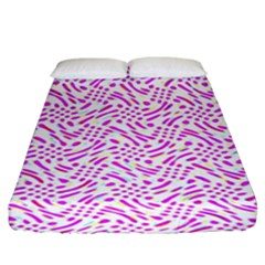 Crazypink Fitted Sheet (king Size)