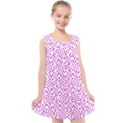 Crazypink Kids  Cross Back Dress by designsbyamerianna