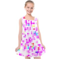 Pixelpink Kids  Cross Back Dress by designsbyamerianna