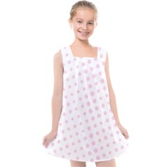 Polka Dot Summer Kids  Cross Back Dress by designsbyamerianna