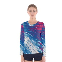 Lines Curlicue Fantasy Women s Long Sleeve Tee