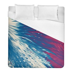 Lines Curlicue Fantasy Duvet Cover (full/ Double Size) by AnjaniArt