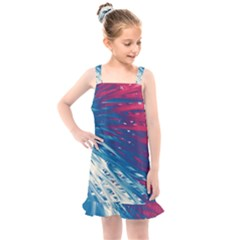 Lines Curlicue Fantasy Kids  Overall Dress by AnjaniArt