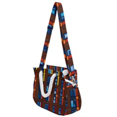 Architecture Color Colour Windows Rope Handles Shoulder Strap Bag