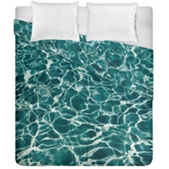 Pool Swimming Pool Water Blue Duvet Cover Double Side (california King Size)