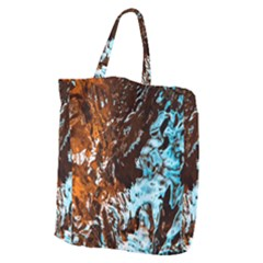 Water The Waves Brook Wallpaper Giant Grocery Tote