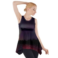 Beautiful Aurora Side Drop Tank Tunic