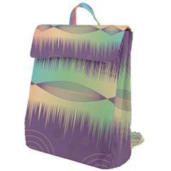 Background Abstract Non Seamless Flap Top Backpack
